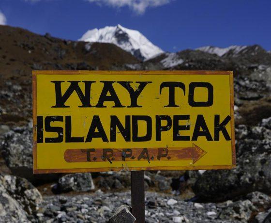 trekking do bazy pod Everestem